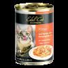"""Консервы """"Эдель Кэт"""" 400г д-кошек Нежные кусочки в соусе 3 вида мяса"""